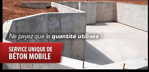 B ton fabriqu sur chantier plancher chauffant granby - La fabrication du beton ...